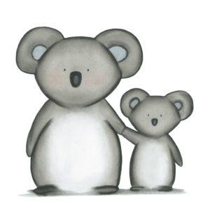 Kunstdrucke – süße Kindermotive fürs Kinderzimmer
